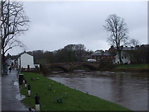 NY6820 : Bridge over the River Eden, Appleby-in-Westmorland by John Lord