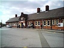 TM0932 : Manningtree Railway Station by Tim Marchant
