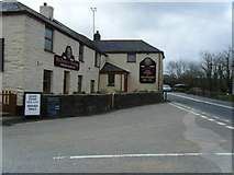 SW7651 : The Plume of Feathers public house. by Colin Pyle