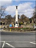 SD9951 : The War Memorial by David Dixon