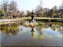 SJ9090 : Vernon Park Fountain by Gerald England