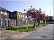 TQ4988 : Territorial Army Centre, London Road Romford by PAUL FARMER