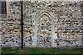 TF9624 : St Helen, Gateley, Norfolk - Blocked doorway by John Salmon