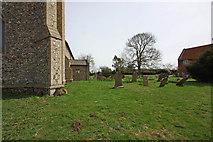 TF9624 : St Helen, Gateley, Norfolk - Churchyard by John Salmon