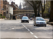 SK3436 : Friargate Railway Bridge by David Dixon