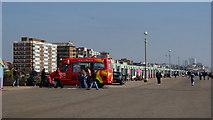 TQ2704 : Ice Cream on the Esplanade, Hove, Sussex by Peter Trimming
