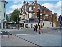 TQ7567 : Waterfront Way/High Street, Chatham by Richard Gadsby