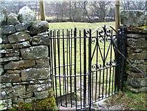 NY7801 : Kissing gate, St Mary's Churchyard by Maigheach-gheal
