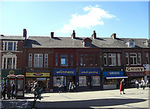 SD9205 : Shops on Henshaw Street by michael ely