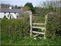 ST1273 : Stile near Alps Farm, Wenvoe by John Lord
