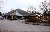 SK0220 : Wyevale Garden Centre at Wolseley Bridge by Steve Daniels