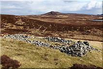 NN6968 : Shieling above Loch Cruin by Calum McRoberts
