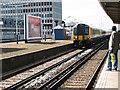 TQ2168 : Fast train through New Malden by Stephen Craven