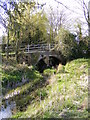 TM3365 : Bruisyard Arch and River Alde by Geographer