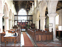 TF5617 : All Saints church in Tilney All Saints - view east by Evelyn Simak