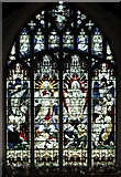 TF5002 : St Peter's church - east window by Evelyn Simak
