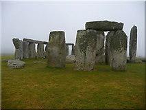 SU1242 : Stonehenge -Standing Stones by Chris Talbot