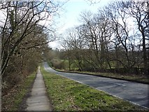 SE2853 : Otley Road from the ringway footpath by DS Pugh