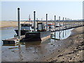 TF9145 : Port of Wells, Buxton's Bight, near Wells-next-the-Sea by Dave Hitchborne