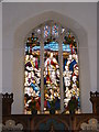 TM4560 : St.Andrew's Church, Aldringham Window by Adrian Cable
