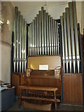 SK1543 : The organ in St. Peter's Church, Snelston by Andrew Abbott
