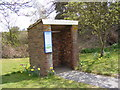 TM4560 : Bus Shelter on B1353 Thorpeness Road by Adrian Cable