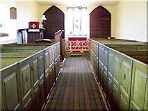 SD1095 : Interior, St John's Church by Maigheach-gheal