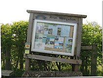 TQ0524 : Subsidence on the Arun Navigation by Dave Spicer