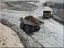 NZ2294 : Opencast Coal Mine, Stobswood by Alex McGregor