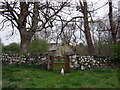 SM9533 : Gate into the churchyard, Llanstinan by ceridwen