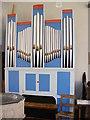 TM2665 : Organ of All Saints Church, Saxtead by Adrian Cable