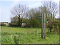 TM1659 : Footpath to the B1077 at Helmingham by Adrian Cable