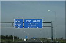 N6044 : Motorways diverge, County Meath by Sarah777