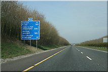 N9336 : The M4 heading west (3) by Sarah777