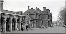 SP8633 : Bletchley Station, exterior by Ben Brooksbank