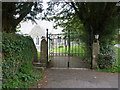 SD4692 : All Saints' Church, Underbarrow, Gate and stile by Alexander P Kapp