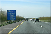 N8516 : Motorways diverge, County Kildare (4) by Sarah777