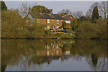 TQ2255 : Mere Cottages by Ian Capper
