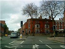 SK3436 : Junction of St. Alkmund's Way and Friargate, Derby by Andrew Abbott