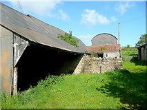 SO7023 : Farm buildings, Boulsdon Lane by Jonathan Billinger
