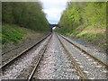 SU9790 : Jordans: Potkiln Lane railway bridge by Nigel Cox