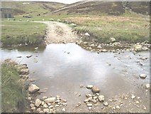 SE0270 : Ford at Mossdale Beck by Philip Barker