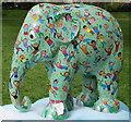 "TQ2879 : Painted elephant ""Elefun"" in Green Park by David Hawgood"
