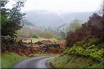 SH6441 : View Across the Vale of Ffestiniog, Gwynedd by Peter Trimming