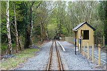 SH5946 : Nantmor Station, Gwynedd by Peter Trimming