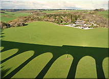 NH7644 : Shadow of the Nairn Viaduct by John Allan