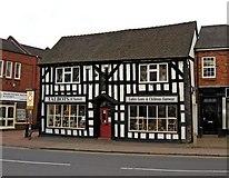 SJ6552 : Talbots of Nantwich Shoe Shop, 20b Beam Street by P L Chadwick