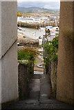 SH5638 : View Towards Porthmadog Harbour, Gwynedd by Peter Trimming