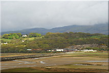 SH5638 : View Towards the Cob, Gwynedd by Peter Trimming