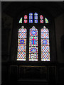 SJ2322 : Stained Glass window Llanyblodwell by John Firth